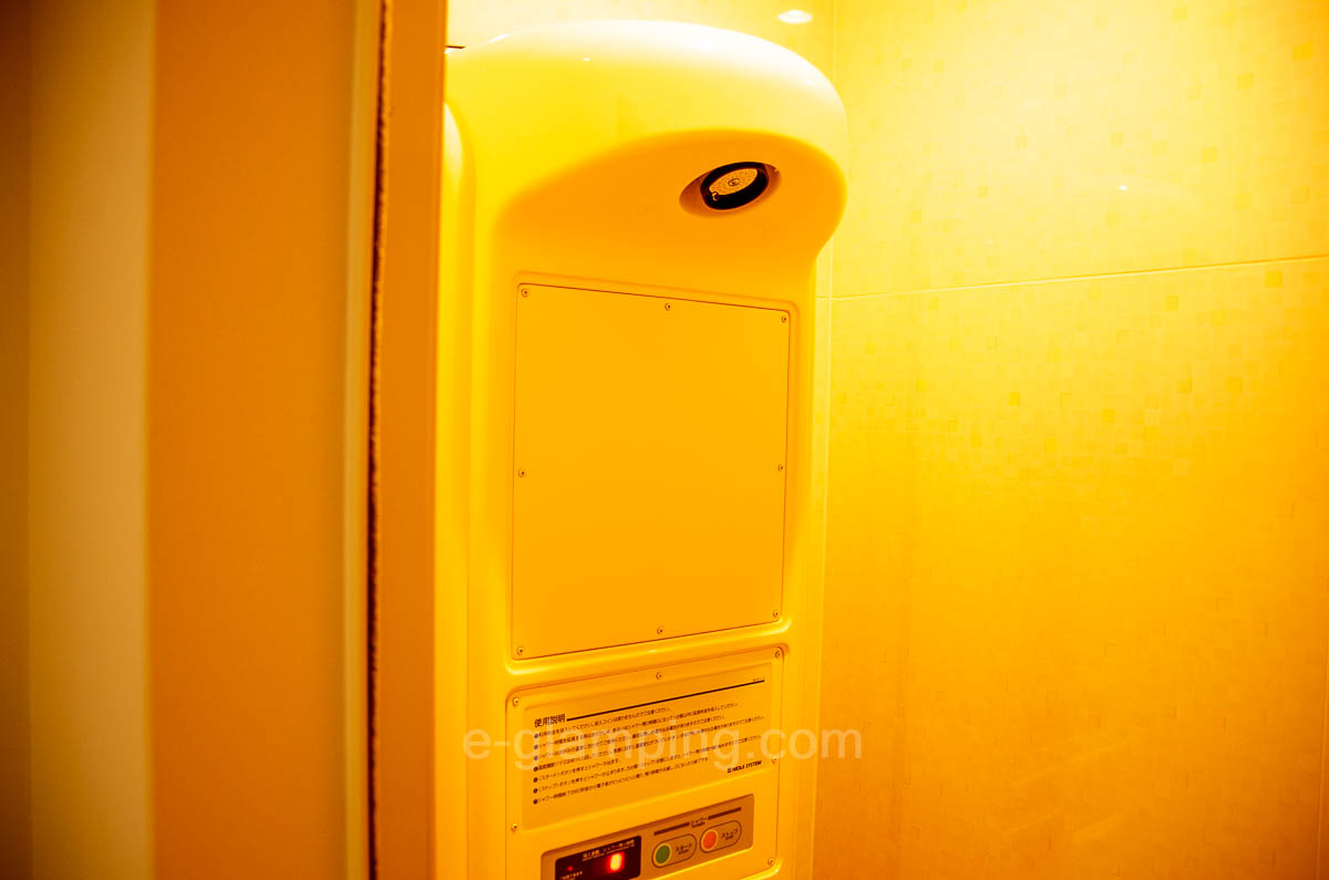 京都瑠璃浜グランドーム天橋立ではシャワー室が綺麗