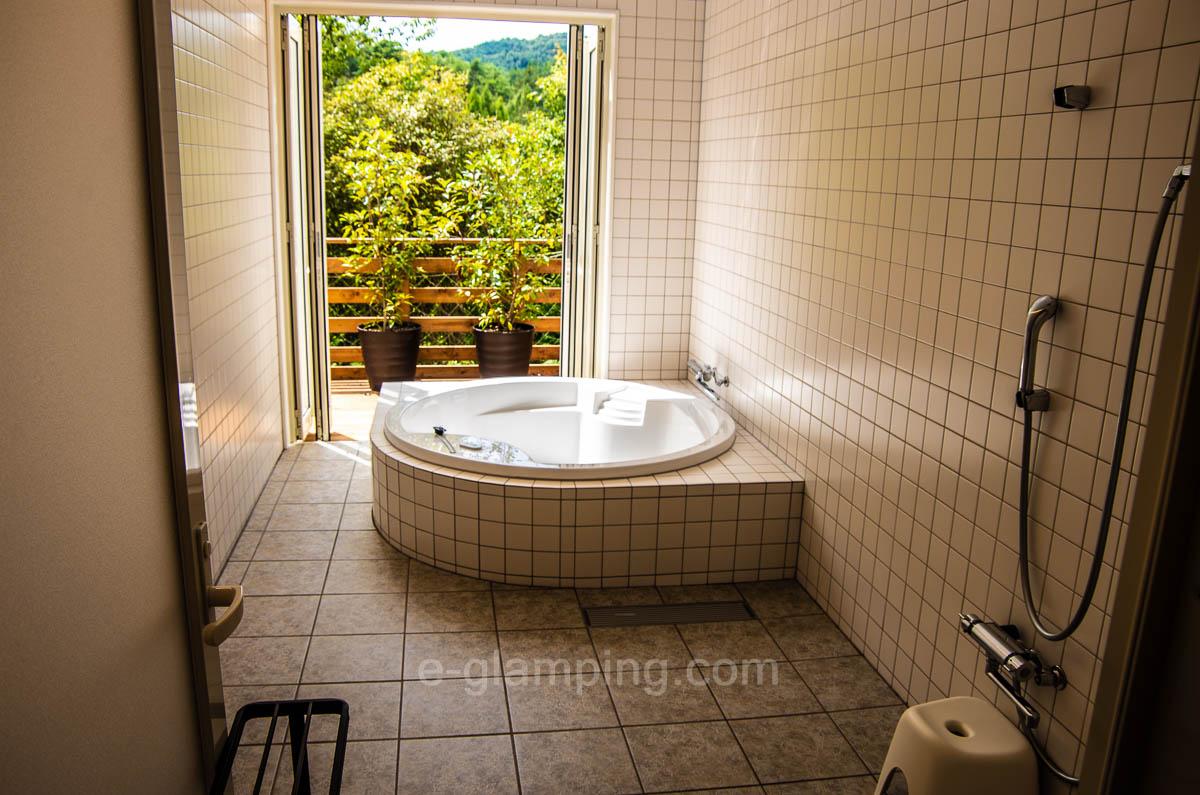 プライベートのお風呂がある
