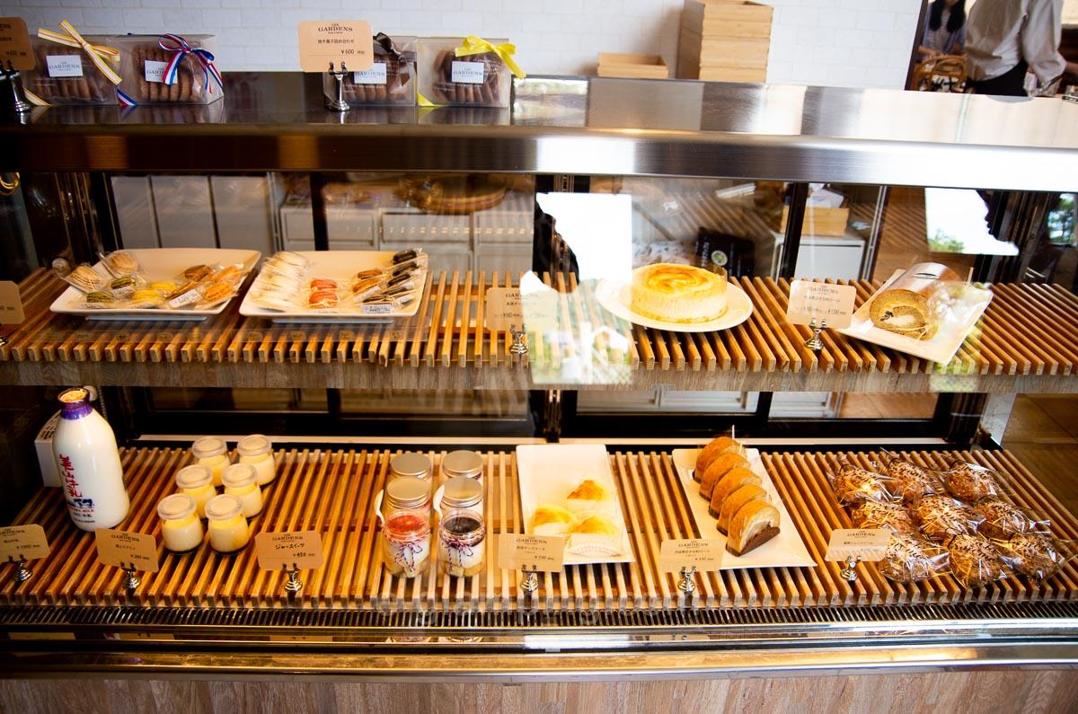 カフェガーデンズの手作りケーキやパン