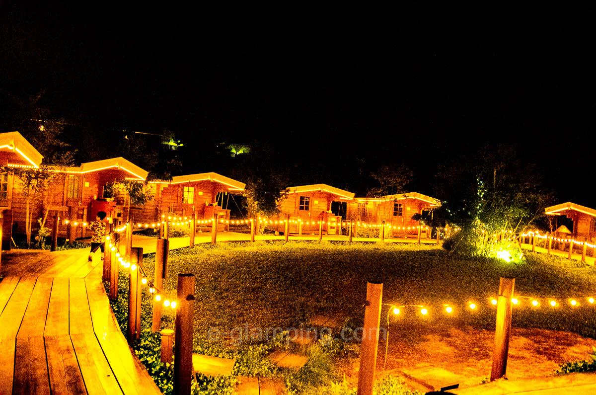 京都るり渓GRAX(グラックス)の夜景2