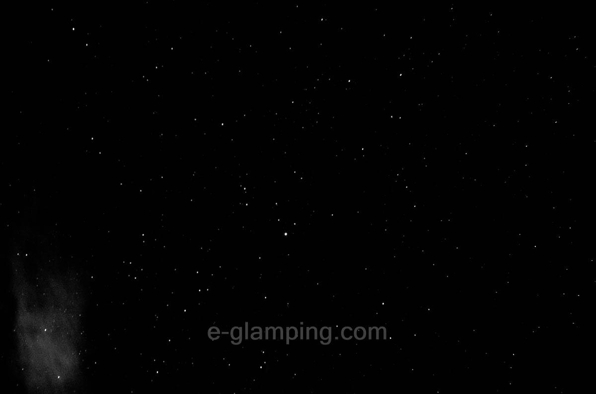 グラックスハナレの星空