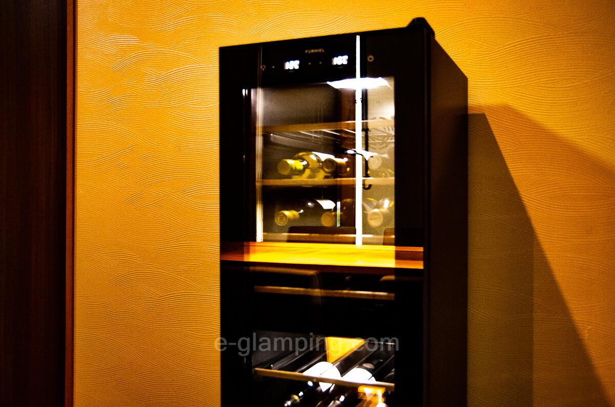 マリントピア・ザ・スイートはワインも飲める