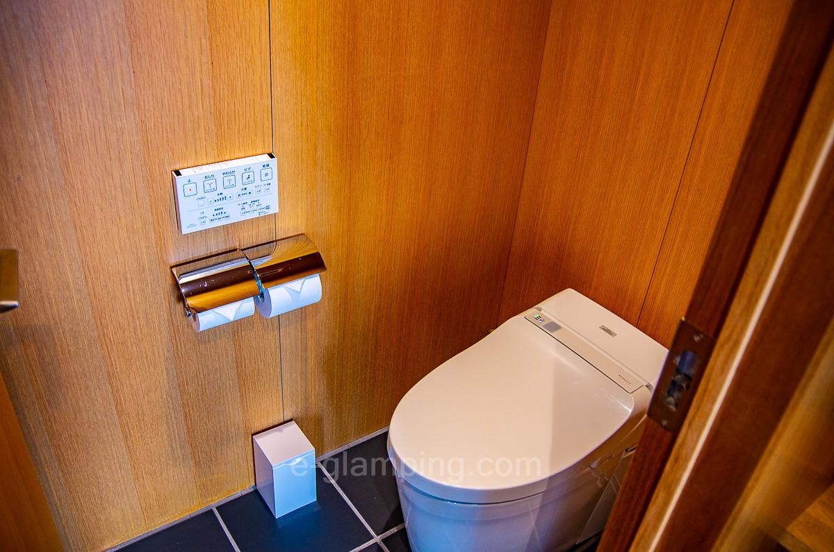 ホテル・ロッジ舞洲別館ネストのトイレ