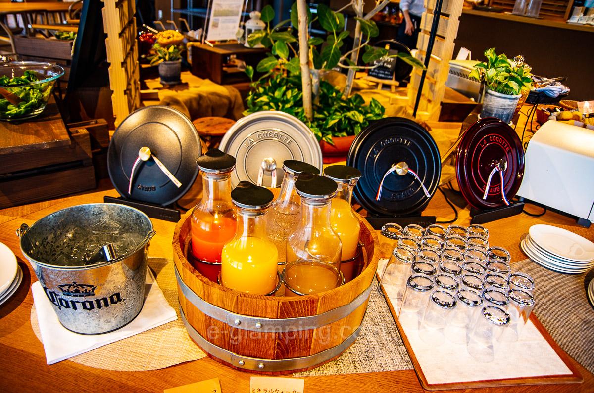 ホテル・ロッジ舞洲ガーデンテラス舞洲キッチンの朝食6