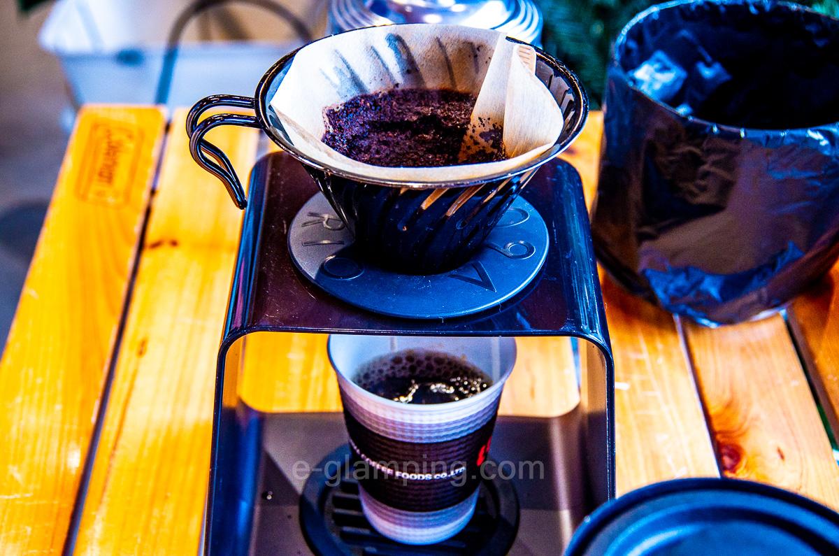 グラックスのドリップコーヒー