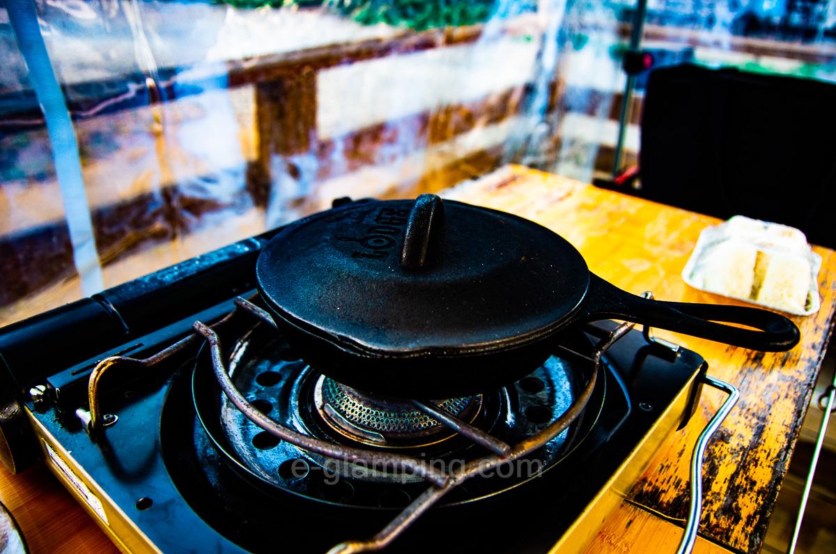 グランピング冬(グラックス)の冬BBQ作り方9