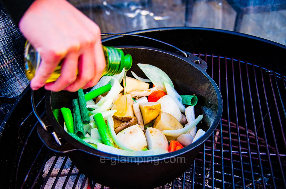 グランピング冬(グラックス)の冬BBQ作り方6