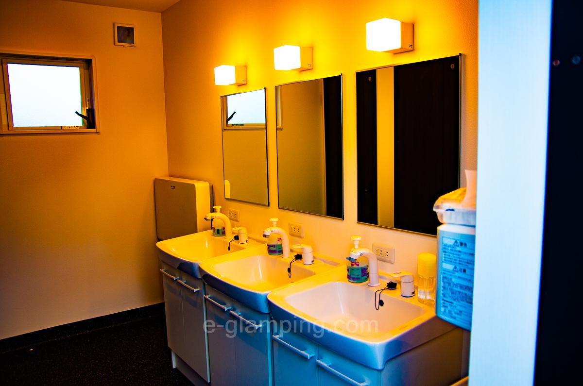 パームガーデン舞洲トイレ内洗面台