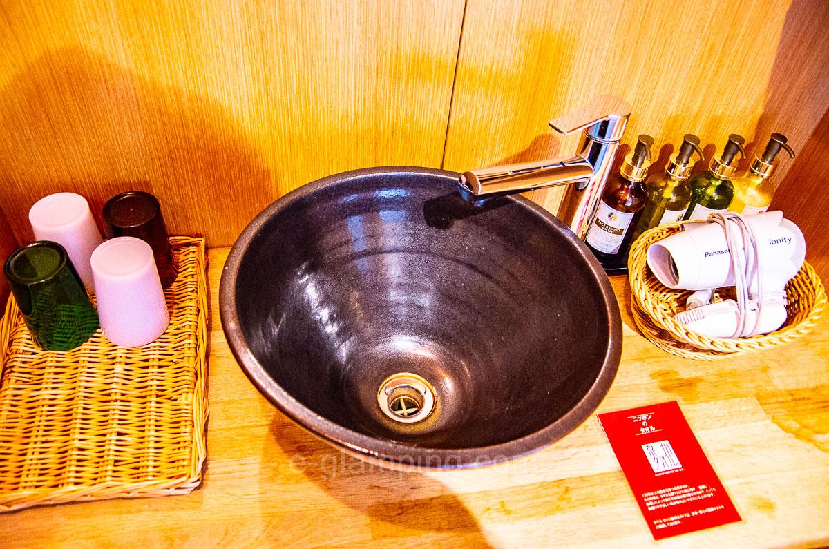 ホテル・ロッジ舞洲別館ネスト洗面器