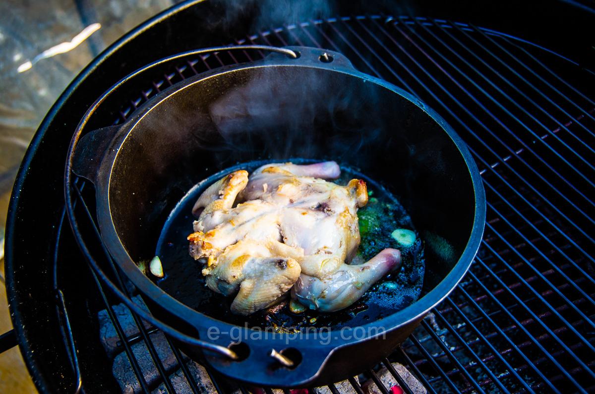 グランピング冬(グラックス)の冬BBQ作り方5