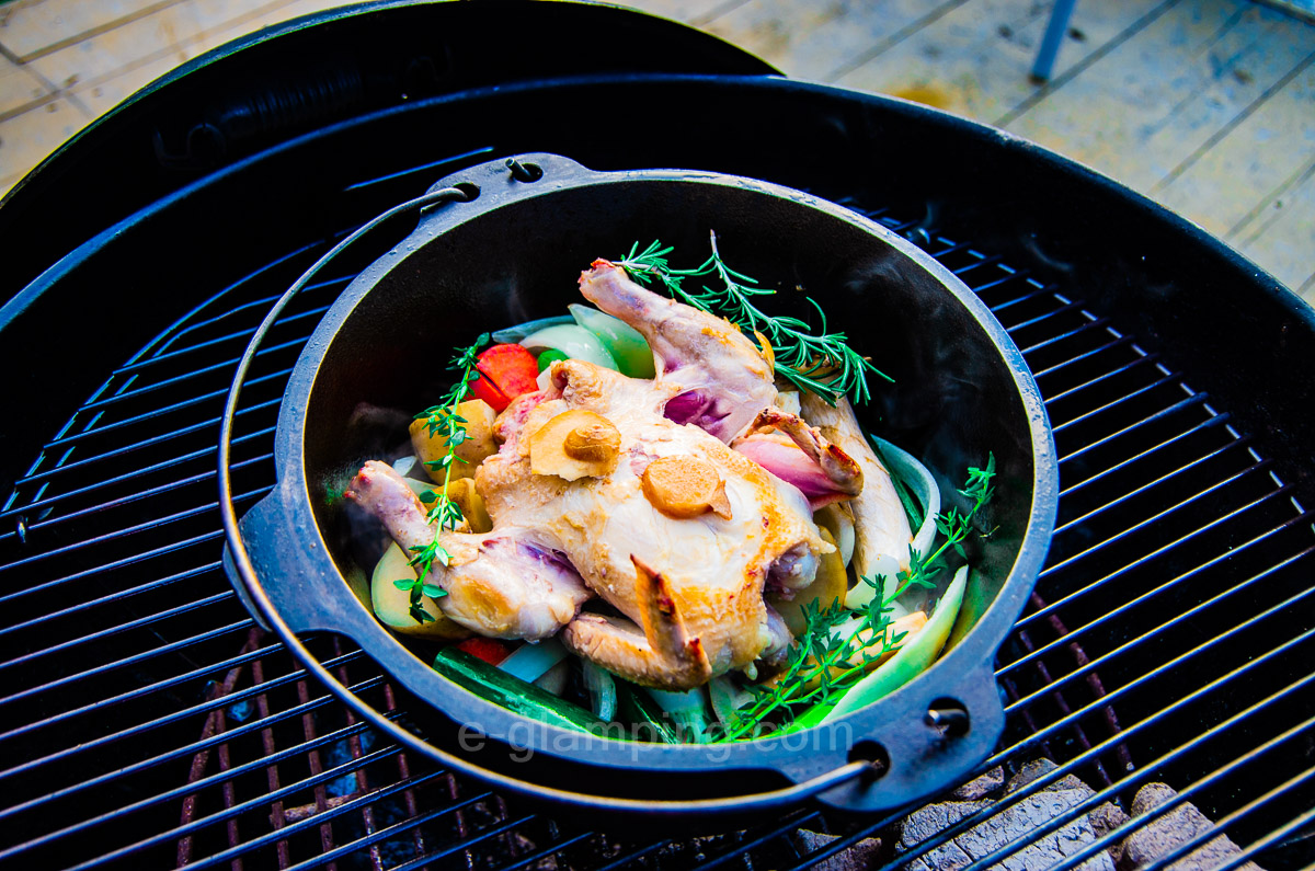グランピング冬(グラックス)の冬BBQ作り方7