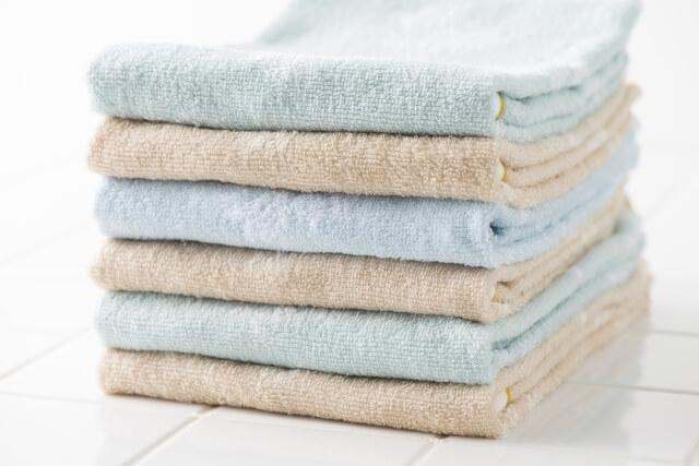 グランピングではタオルも必要な持ち物である